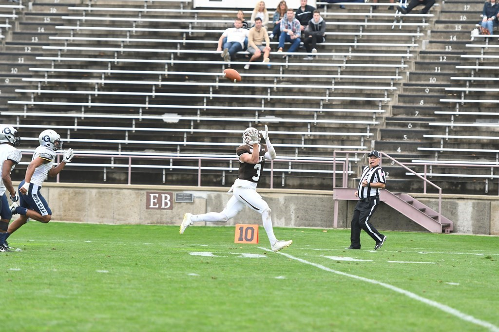 Lehigh Goes 2-0 In Patriot League Play With Critical 54-35 Win Over Georgetown