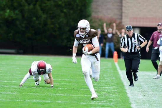 Mountain Hawks Find Their Reagent, Combine Perfectly For Huge 45-31 Win Over Colgate