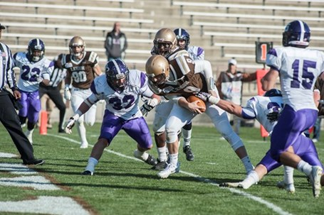Can You Dig It? Shaf Helps Lehigh Dominate Holy Cross, 38-20