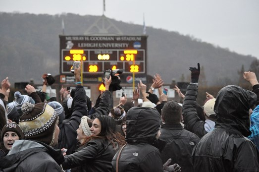 Down by Double Digits, Halftime Speech Sparks Lehigh's #Rivalry153 Rally As Lehigh Wins 38-31