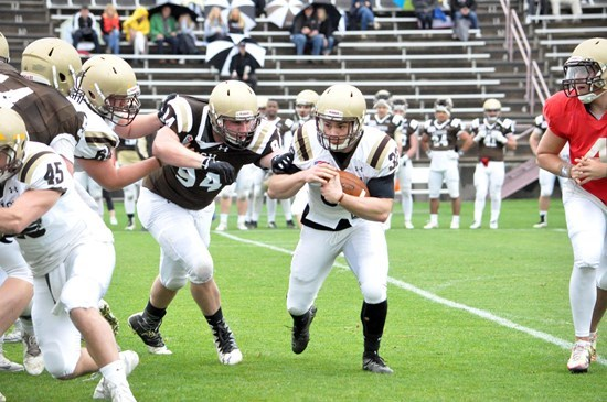 Despite 48-34 Win By Offense In Brown and White Game, Lots to Like From Defense