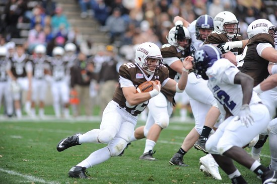 With Title Hopes On The Line, Lehigh Explodes For a 51-38 Win Over Holy Cross